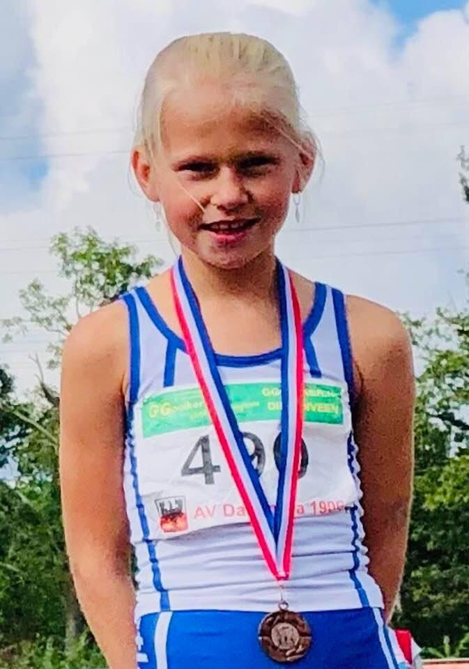 Nieuw clubrecord voor Julia Seppenwoolde op de 1000 meter