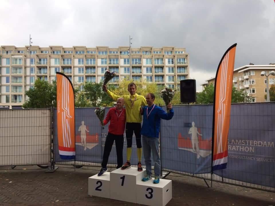 Peter Bruinsma Nederlands Kampioen op de marathon