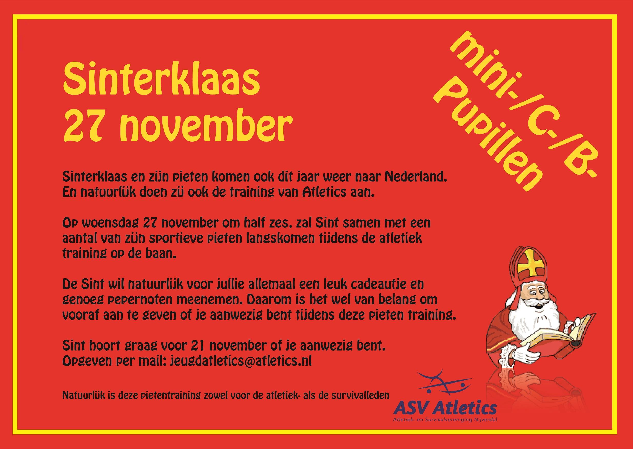 Sinterklaas 27 november