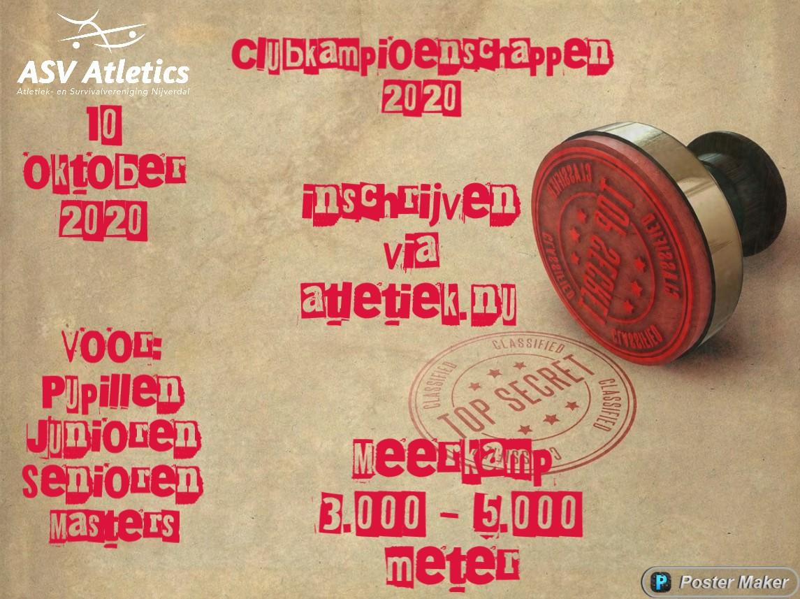 club kampioenschappen 2020