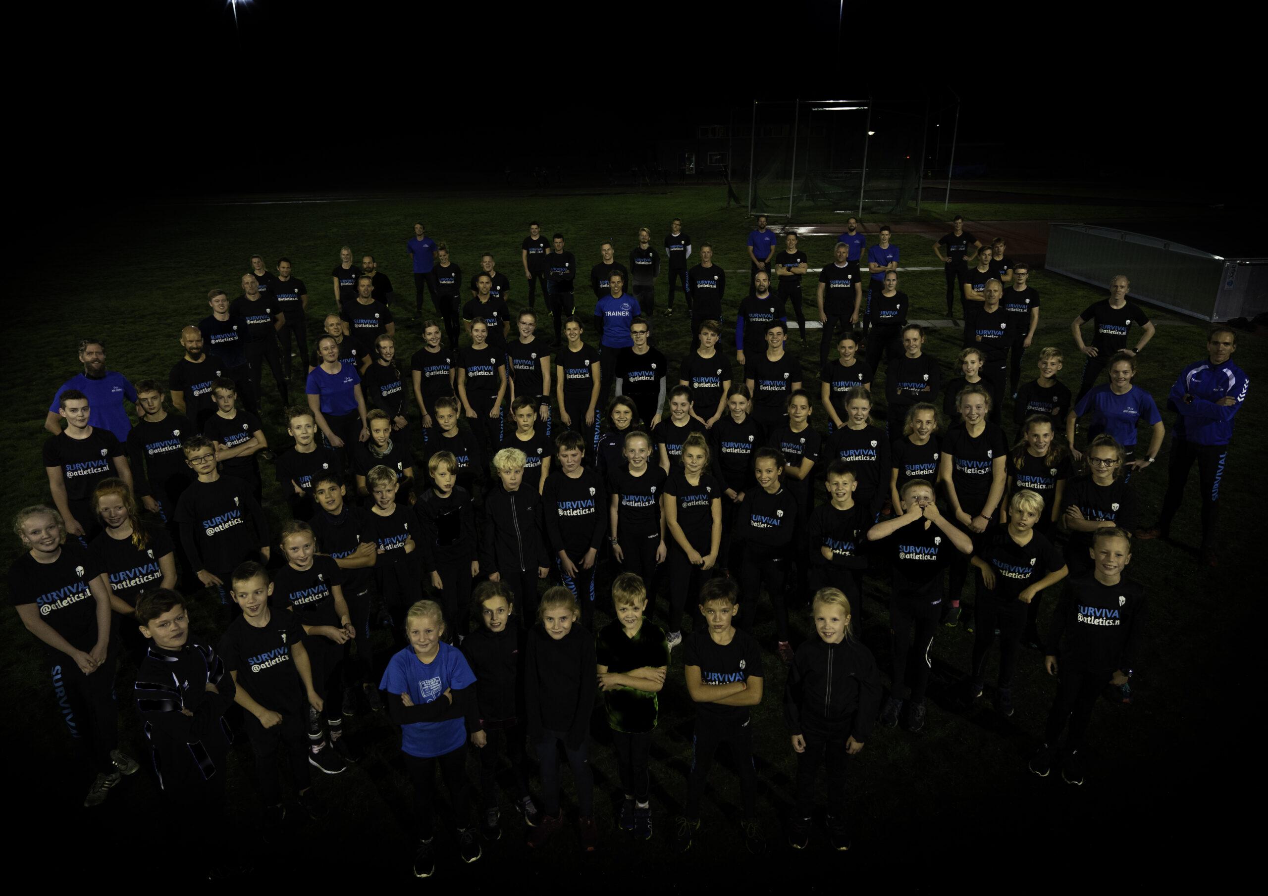 Atletics survival bestaat 10 jaar!!!